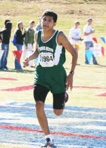 Cross Key's Leonel Ayala won the 2009 and 2010 Class AA state titles.