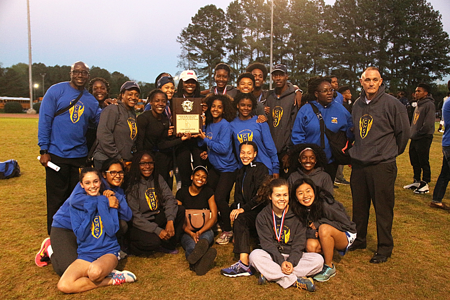 2016 DCSD Track and Field Champions -- Chamblee Lady Bulldogs