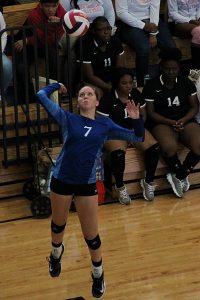 Junior Becca Evans was a Spikefest All-Tournament selection in 2017 and returns to lead Chamblee in 2018.