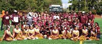 The Tucker Tigers middle school football team went undefeated (9-0) to help pave the way for the school to win the 2017-18 DCSD Middle School All-Sports Award.