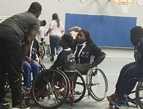 Silver Streaks Play for State JV Wheelchair Basketball Title on Saturday