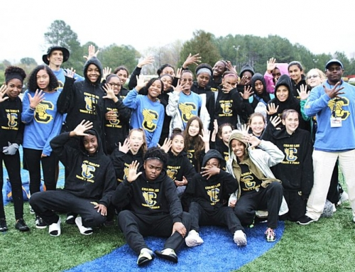 Chamblee Lady Bulldogs Repeat as DCSD Middle School Track Champs