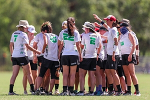 Atlanta Ozone are coming off an 8th place finish at the U.S. Open Championships as they prepare for the Americus Pro Cup game with the EuroStars. (Photo courtesy of the Atlanta Ozone)