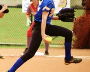 Chamblee's Margaret Axelson picked up two wins in the first round of the Class 5A state playoffs. (Photo by Mark Brock)