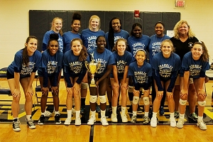 The Region 5-5A champions Chamblee Lady Bulldogs reached the Class 5A Elite Eight for the third consecutive season and set a school second best record of 41-7. (Photo by Mark Brock)