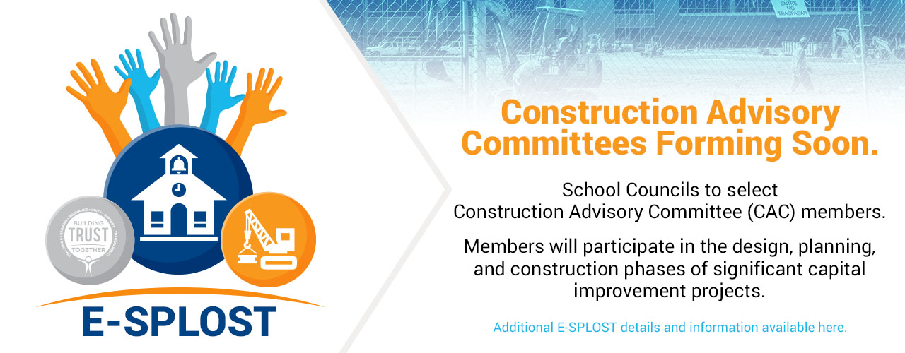 E-SPLOST Construction Advisory Committees