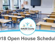 2018-2019 Open House Dates Now Available