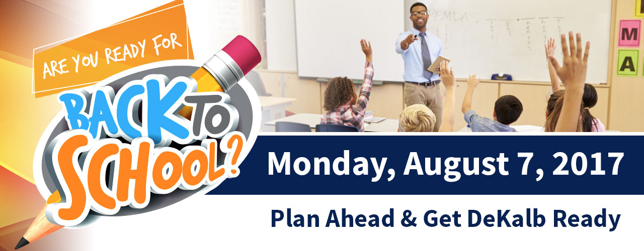 Get Ready for Back-to-School DeKalb!