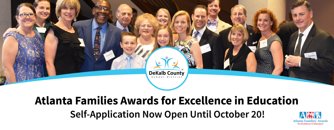 Apply for the 2018 Atlanta Families' Awards by October 20!