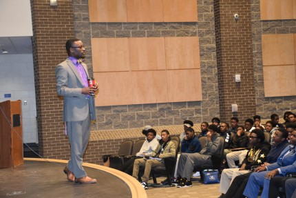 Students Learn Life Lessons at 'Men In Charge' Breakfast