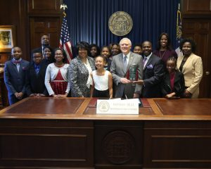 Governor Deal Honors School for Red Ribbon Campaign