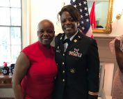 Columbia High Alumna Promoted in Army