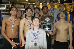 2015 DeKalb Co. Swim and Dive Champions -- Chamblee Bulldogs
