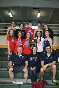 2015 DeKalb Co. Swim and Dive Champions -- Dunwoody Lady Wildcats