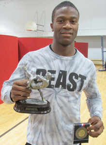 Southwest DeKalb's Abdur-Rahman Yasin has won 87 consecutive matches and was named the William S. Venable Most Outstanding Wrestler for the 2015 Championships.