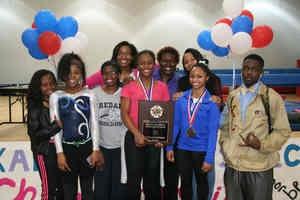 2015 DCSD Gymnastics Champions -- Redan Lady Raiders