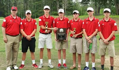 2015 DCSD Boys Golf Champions -- Dunwoody Wildcats