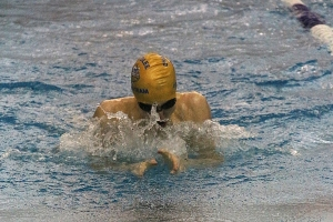 Chamblee's Liam Bell claimed the DCSD record in the 100 breaststroke (57.60).