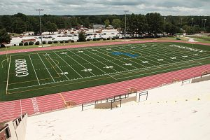 Buck Godfrey Stadium hosting key Region 4 middle school football contests at 10:00 am and 11:30 am on Saturday.