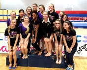 2016 DCSD Gymnastics Champions -- Lakeside Lady Vikings