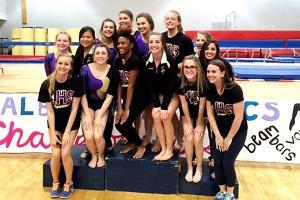 2016 DCSD Gymnastics Champions -- Lakeside Lady Vikings