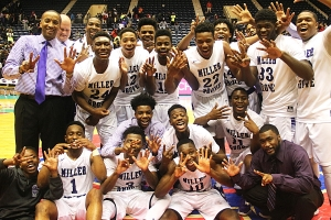 2016 Class 5A Boys' State Basketball Champions -- Miller Grove Wolverines