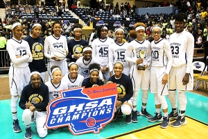 2016 Class 5A Girls' State Champions -- SW DeKalb Lady Panthers