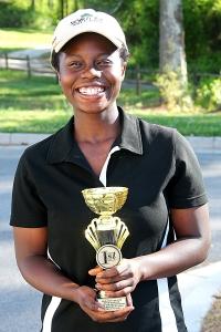 Cedar Grove's Mariah Kuranga won her third consecutive girls' title.