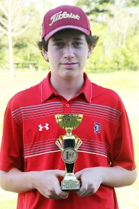 Dunwoody freshman Jackson Perry took home medalist honors after winning a one-hole sudden death playoff.