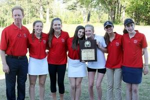 2016 DCSD Girls' Golf Champions -- Dunwoody Lady Wildcats
