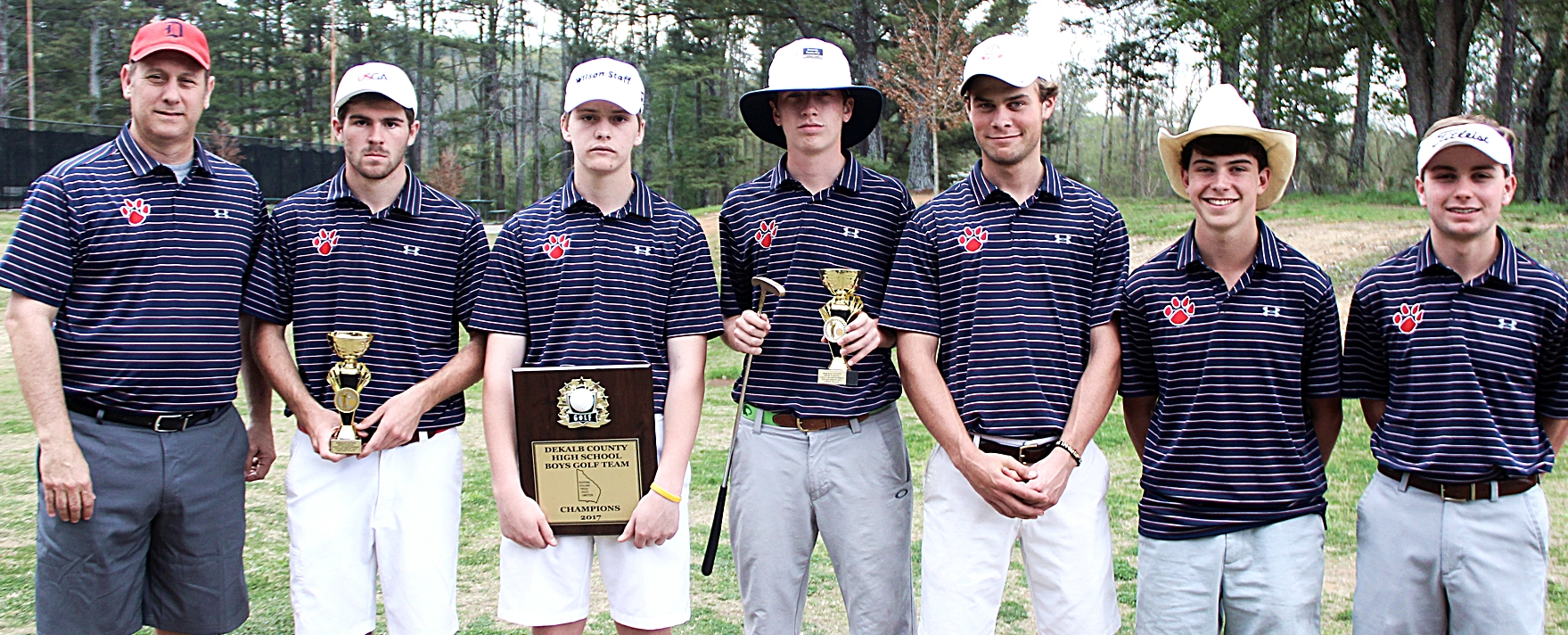 The Dunwoody Wildcats improved 23 strokes on Day 2 of the Class 6A State Tournament to claim 10th overall.