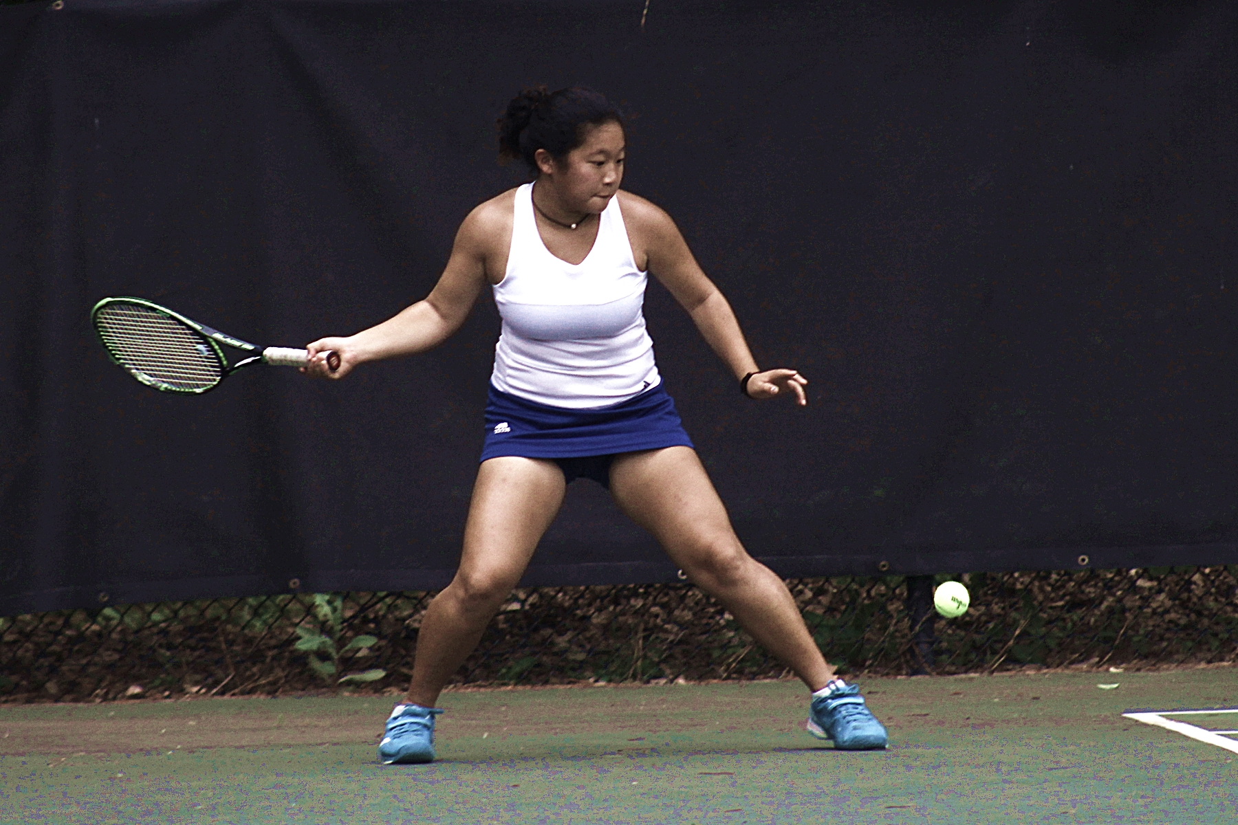 Chamblee's Madison Trinh teamed up with Madeline Meer for a win at No. 1 doubles.
