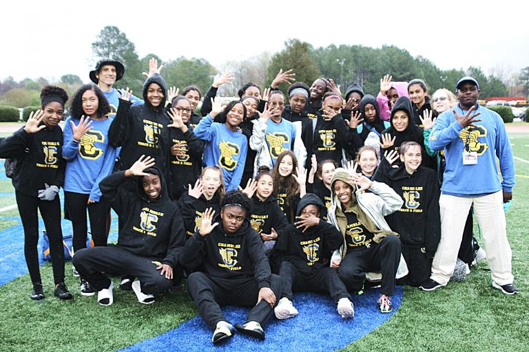 2018 DCSD Middle School Girls' Track and Field Champs - Chamblee Lady Bulldogs