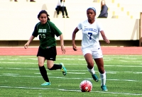 Chamblee junio Caiah Smith (7) is one of the leaders for the Lady Bulldogs as they head into the Class 5A girls' state soccer playoffs.