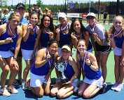 The Chamblee Lady Bulldogs won their second consecutive Class 5A state tennis title to lead Chamblee's repeat win of the DCSD All-Sports Award.