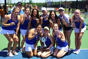 The Two-Time Undefeated (46-0) GHSA Class 5A Girls' State Tennis Champions (2017, 2018) -- Chamblee Lady Bulldogs