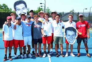 2018 GHSA Class 6A Boys' Tennis State Runners-up - Dunwoody Wildcats