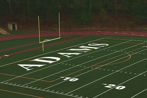 Adams Stadium is playing host to the 2018 Trail to the Title Middle School Football Playoffs semifinals on Saturday at 10:30 am (Bethune vs. Henderson) and 12:30 pm (Tucker vs. Cedar Grove).