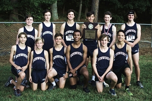 2018 DCSD JV Boys Cross Country Champions -- Dunwoody Wildcats