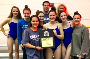2019 DCSD Girls County Swim and Dive Champions Chamblee Bulldogs (Courtesy Photo)