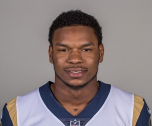 Los Angeles Rams tight end Gerald Everett played football his senior year at Columbia High. (Photo courtesy of Los Angeles Rams)