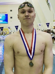 Dunwoody's Grant Allison was named the Class 6A Boys' Swimmer of the Year by the GHSSCA this spring. The junior won the 100-yard freestyle at the Class 6A state meet and was runner-up in the 50 freestyle. His a six-time (3 50 freestyle, 3 100 freestyle) DeKalb County Champion.