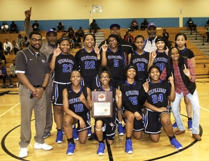2019 DCSD JV Girls Basketball Champions - Stephenson Lady Jaguars (11-2)