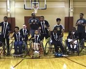 2019 AAASP JV Wheelchair Basketball Champions -- DeKalb Silver Streaks
