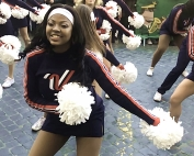 Chamblee four-time All-American Cheerleader receives Positive Athlete Gymnastics Award for the Atlanta Region.