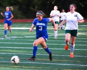 Chamblee's Molly Silverman (3) had a pair of goals and an assist I Chamblee's 5-1 win over Walnut Grove. (Photo by Mark Brock)