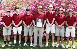 2019 DCSD Boys County Golf Champions - Dunwoody Wildcats