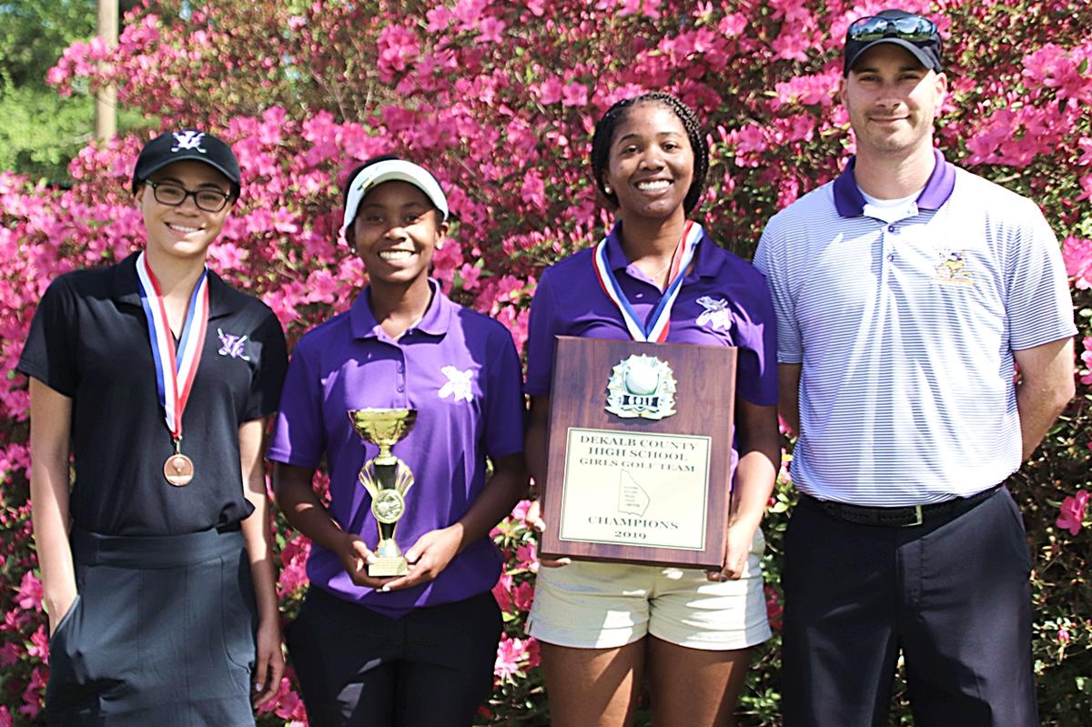 2019 DCSD Girls County Golf Champions - Lakeside Lady Vikings