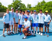 2019 Class 5A Tennis State Champions - Chamblee Bulldogs First title since 1998 and second overall