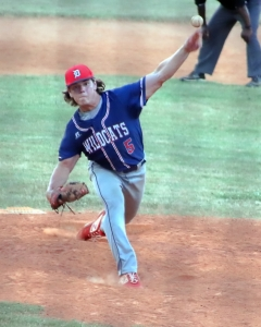 Dunwoody's Will Forth pitched two innings for the West.